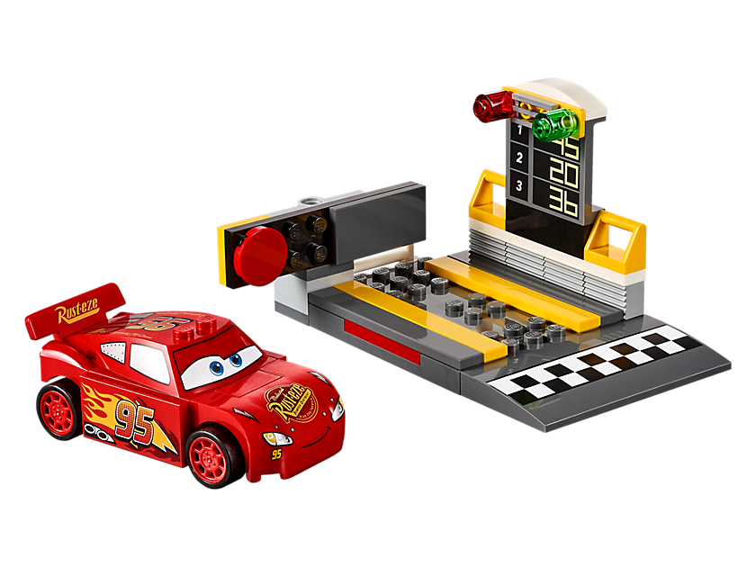 Lego Lightning Mcqueen Speed Launcher