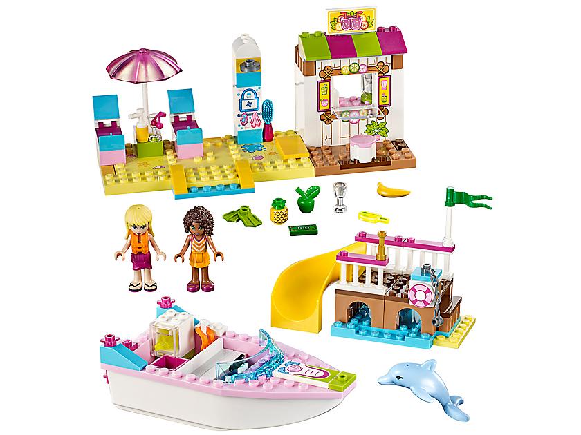 Lego Andrea & Stephanie's Beach Holiday