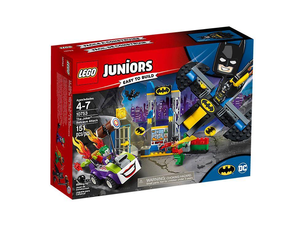 The Joker Batcave Attack 10753 Dc Super Heroes Lego Shop