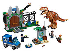 Ausbruch des T. rex