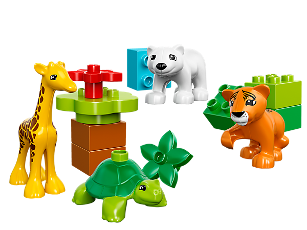 Explore product details and fan reviews for Baby Animals 10801 from DUPLO® . Buy today with The Official LEGO® Shop Guarantee.