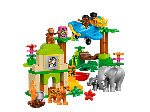 Explore product details and fan reviews for Jungle 10804 from DUPLO® . Buy today with The Official LEGO® Shop Guarantee.