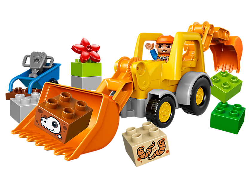 Lego Backhoe Loader