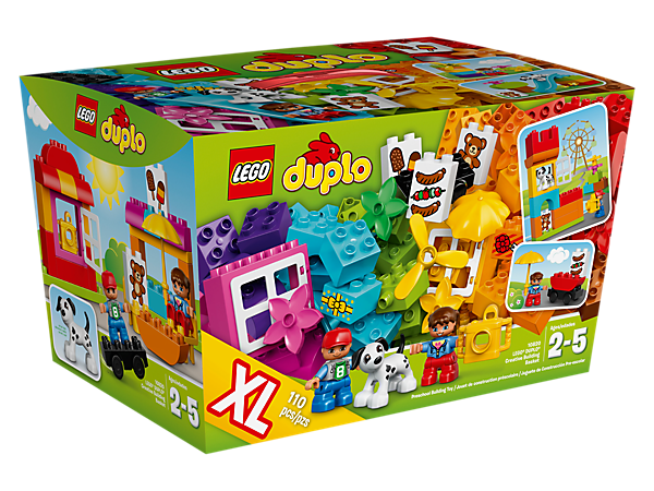 <p>Build and create using LEGO® DUPLO® bricks, with colorful and special elements included to inspire endless building and role-play fun with a city theme.</p>