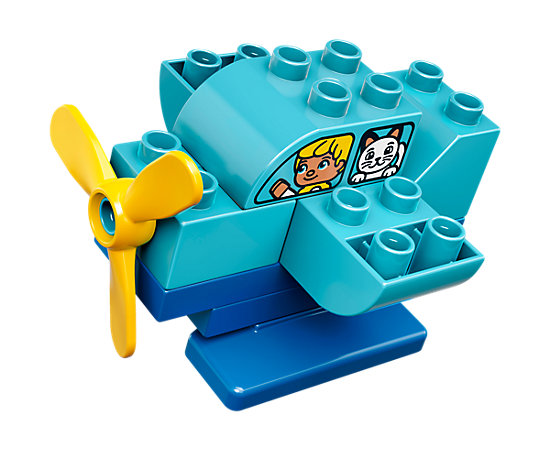 How To Build A Lego Airplane Preschool