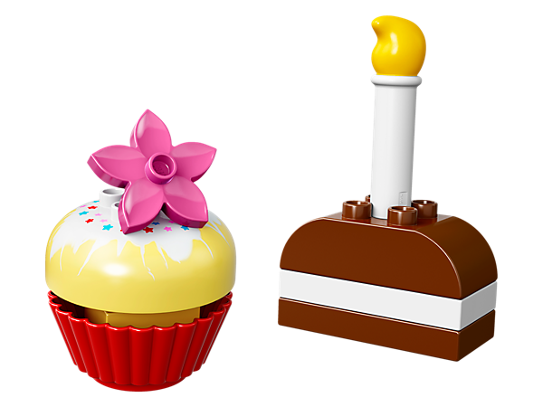 <p>Have some early baking fun with a LEGO® DUPLO® twist—toddlers will love creating their own cakes to serve up to friends and family.</p>