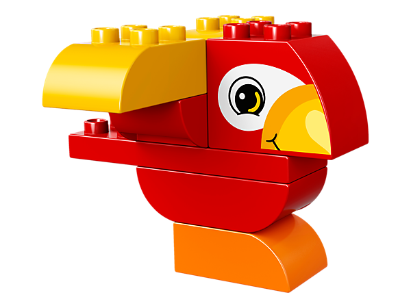 <p>Your toddler will love putting the chunky LEGO® DUPLO® bricks together to build and rebuild this colorful bird, and fly off on endless story-telling adventures.</p>