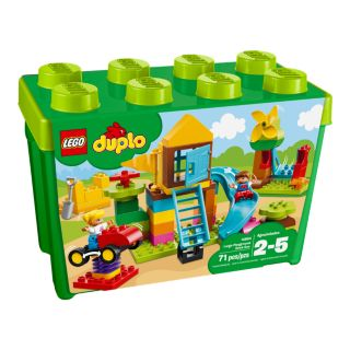 Large Playground Brick Box