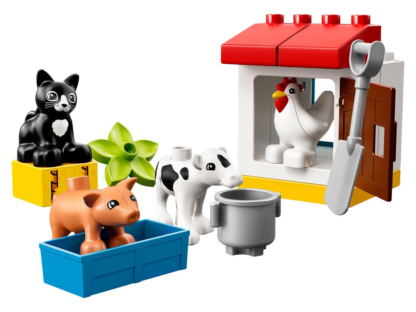 LEGO® DUPLO® 10870 Tiere auf dem Bauernhof LEGO Baukästen & Sets Baukästen & Konstruktion 16 Teile