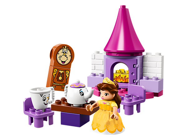 Your child will love to play out Belle's Tea Party in the castle kitchen, and create endless stories with iconic characters including Mrs. Potts, Chip and Cogsworth.