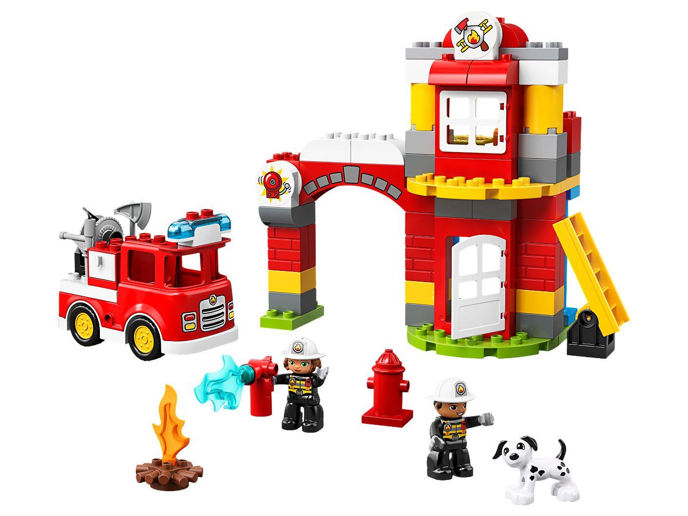 Lego Duplo Item Fire Extinguisher Red