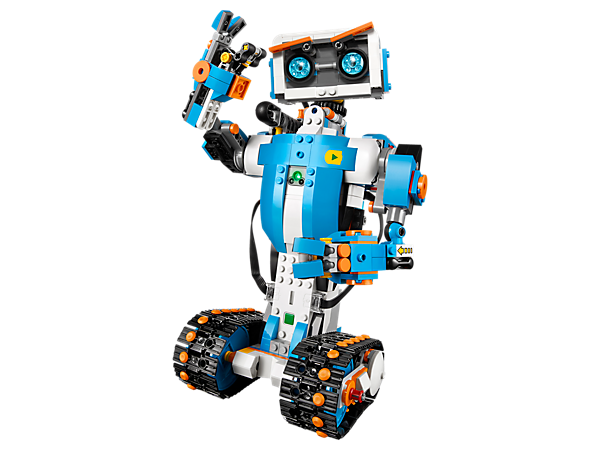 Take your LEGO® play to the next level with the amazing LEGO BOOST Creative Toolbox. Build and code interactive, motorized robots, models and creations with distance, color and tilt sensor technologies.