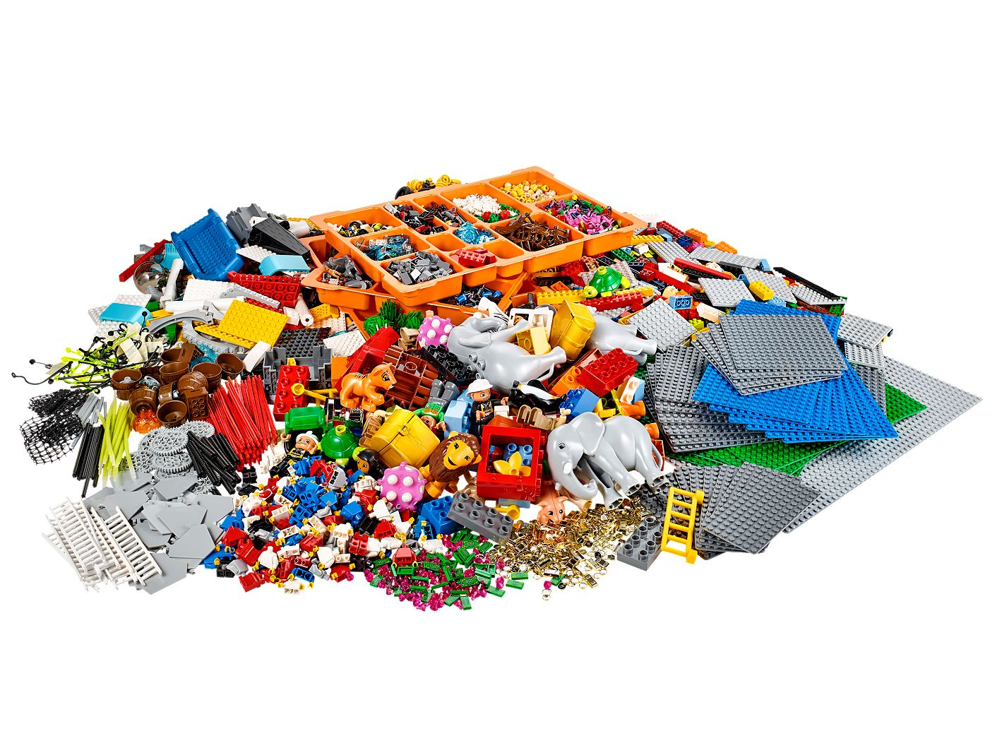 Welche Sets brauche ich: LEGO® SERIOUS PLAY® Landscape and Identity Kit
