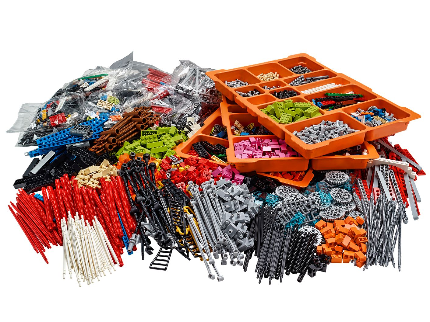 Welche Sets brauche ich: LEGO® SERIOUS PLAY® Connectors Kit