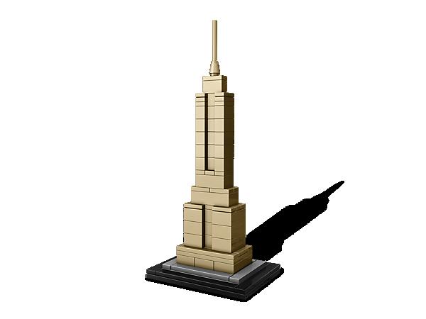 Baue mit dieser realitätsgetreuen Nachbildung des Empire State Buildings ein architektonisches Meisterwerk nach. Im Umfang enthalten ist eine Broschüre mit Details und Geschichte des Bauwerks.