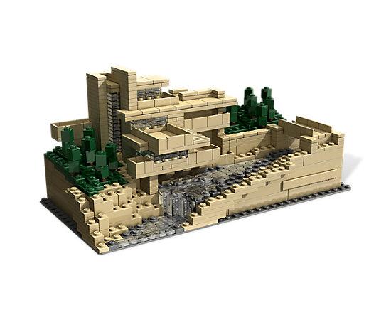 fallingwater 21005 architecture lego shop