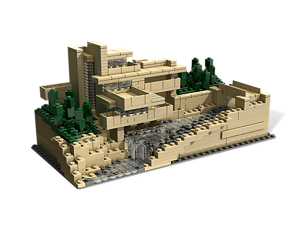 Celebrate Frank Lloyd Wright's innovative vision by creating this real-world replica of Fallingwater®, his architectural masterpiece.