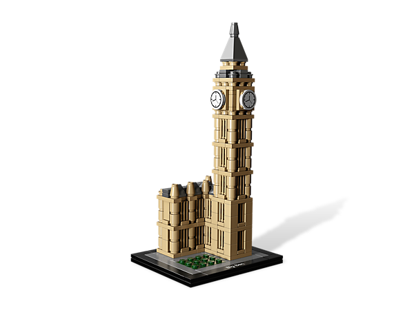 Recreate the Big Ben Clock Tower with LEGO® Architecture in a building set featuring the iconic details of this world-famous landmark!