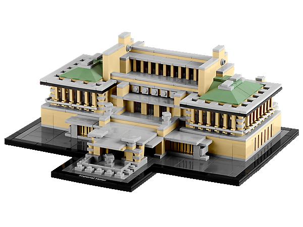 Construisez un modèle réduit du célèbre Hôtel impérial de 250 pièces bâti par Frank Lloyd Wright à Tokyo, au Japon !