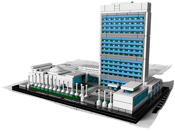 The United Nations Headquarters is the latest in the LEGO Landmark series and an amazing way to pay tribute to a triumph of modernism!