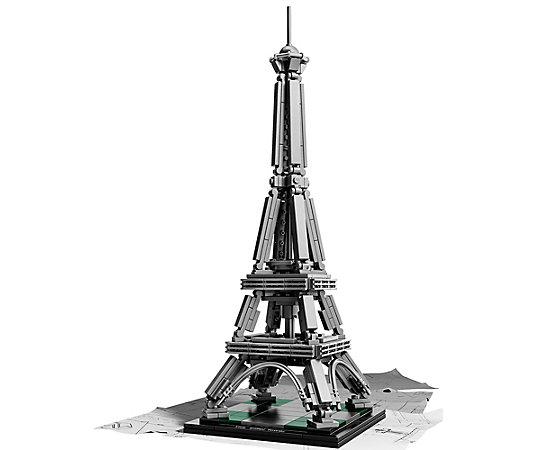 The eiffel tower 21019 architecture lego shop for Eiffel architect