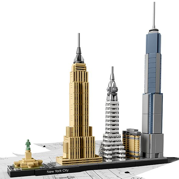 New York City 21028 | Architecture | Buy online at the Official LEGO® Shop US