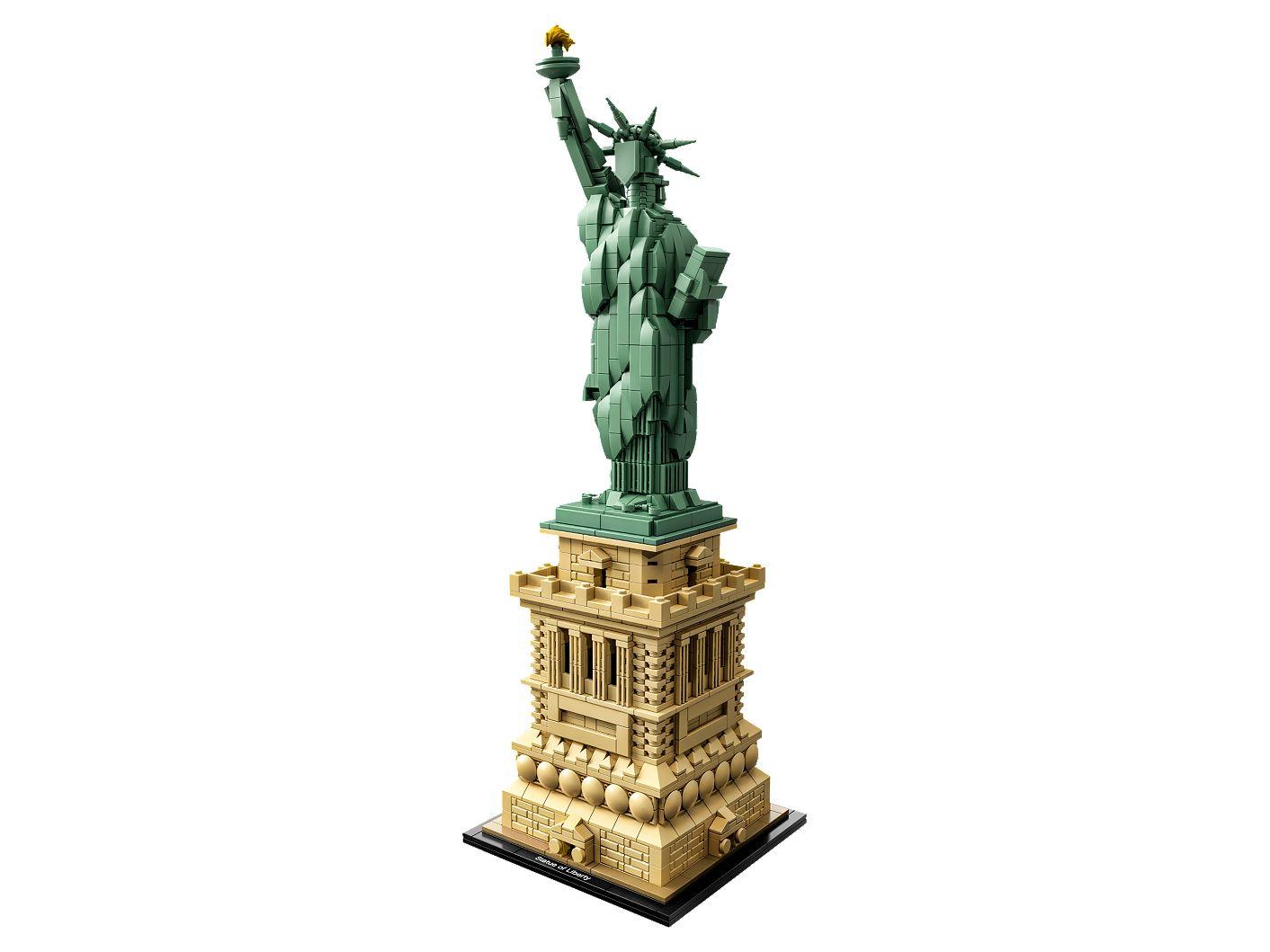 Vrijheidsbeeld Van Lego.Vrijheidsbeeld 21042 Architecture Officiele Lego Winkel Be