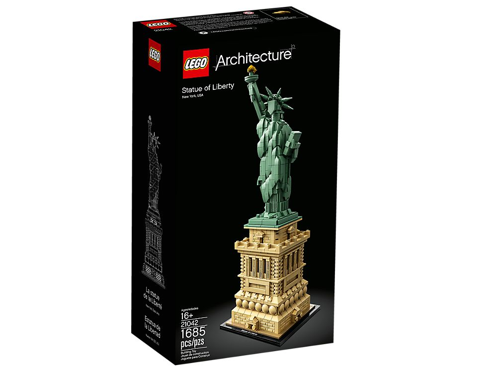 Statue Of Liberty 21042 Architecture Lego Shop