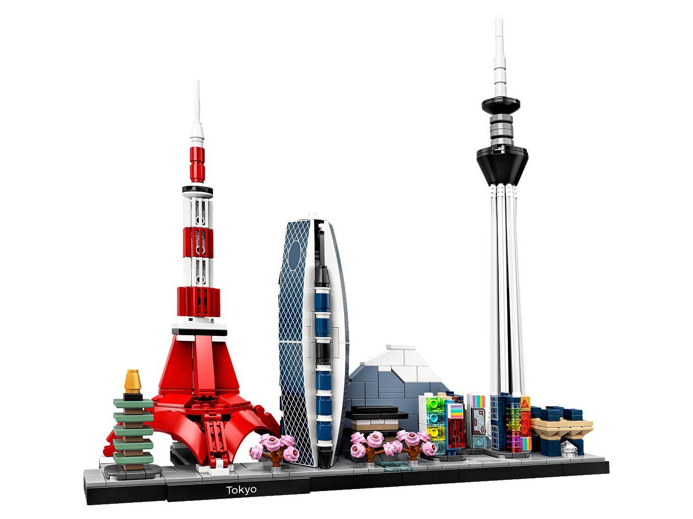 lego tokyo architecture live