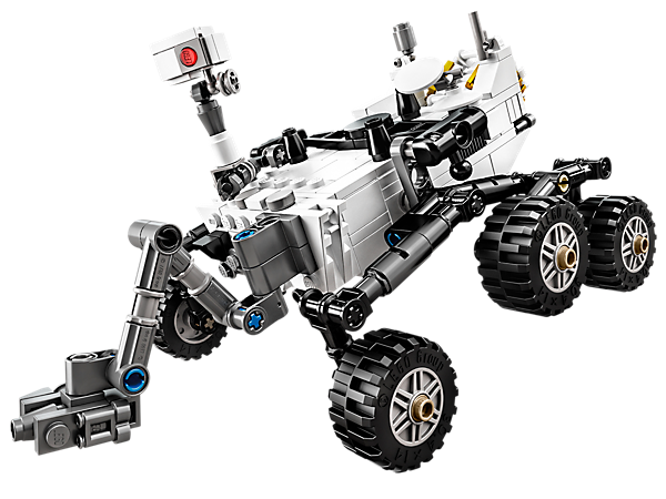 Explore product details and fan reviews for buildable toy NASA Mars Science Laboratory Curiosity Rover 21104 from Cuusoo. Buy today with The Official LEGO® Shop Guarantee.
