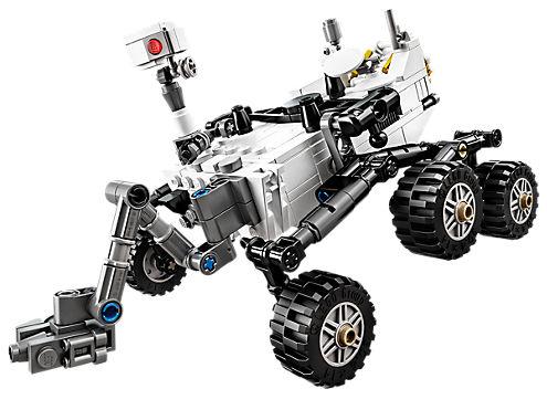 Nasa Mars Science Laboratory Curiosity Rover 21104 Ideas Lego Shop