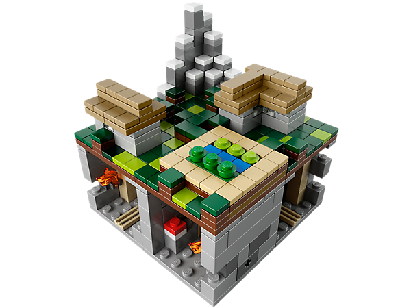 The Village is a popular biome from the world of Minecraft for you to build, complete with a Pig, Villager and Zombie!