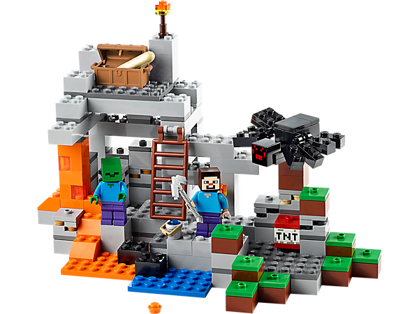 Explore product details and fan reviews for The Cave 21113 from Minecraft. Buy today with The Official LEGO® Shop Guarantee.