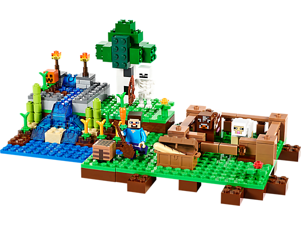 Explore product details and fan reviews for The Farm 21114 from Minecraft. Buy today with The Official LEGO® Shop Guarantee.