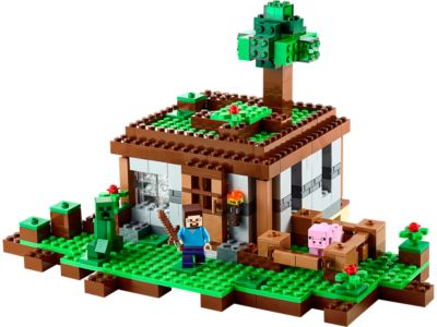 The First Night - 21115 | Minecraft™ | LEGO Shop