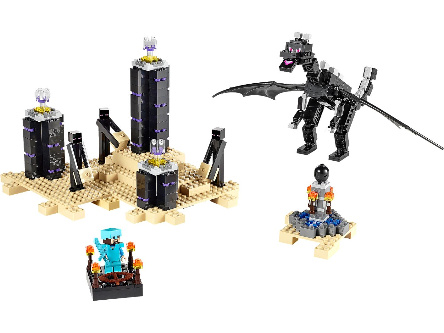 The Ender Dragon 21117 Minecraft Buy Online At The Official Lego Shop Ie