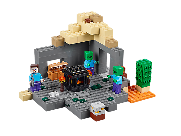 Explore product details and fan reviews for The Dungeon 21119 from Minecraft. Buy today with The Official LEGO® Shop Guarantee.