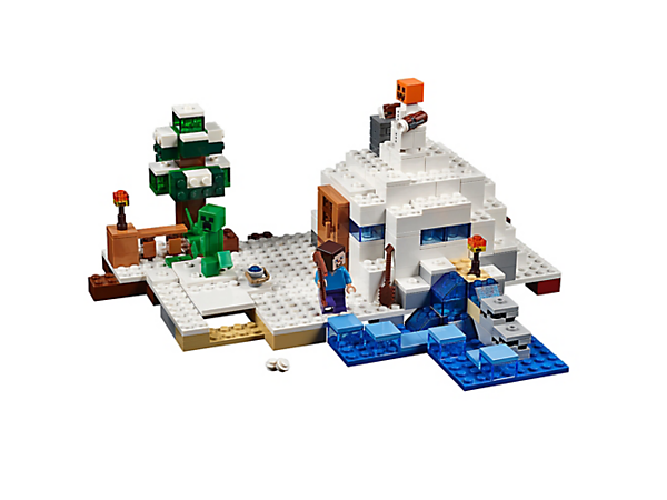 Explore product details and fan reviews for The Snow Hideout 21120 from Minecraft. Buy today with The Official LEGO® Shop Guarantee.