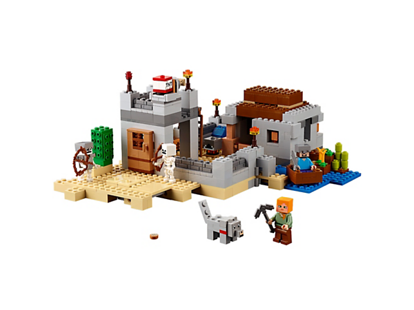 Explore product details and fan reviews for The Desert Outpost 21121 from Minecraft. Buy today with The Official LEGO® Shop Guarantee.