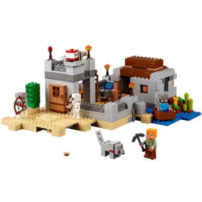 The Desert Outpost - 21121 | Minecraft™ | LEGO Shop