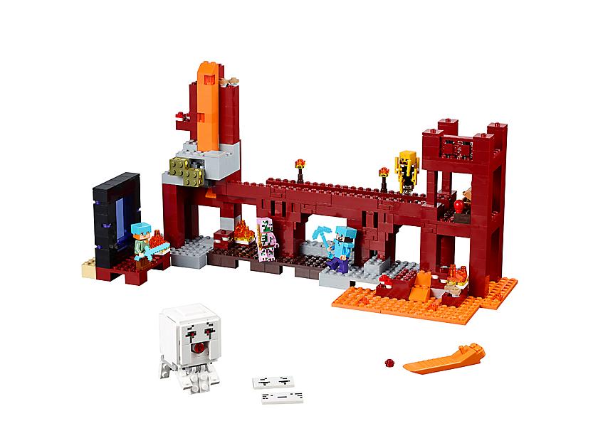 prix LEGO 21122 La Forteresse Du Nether