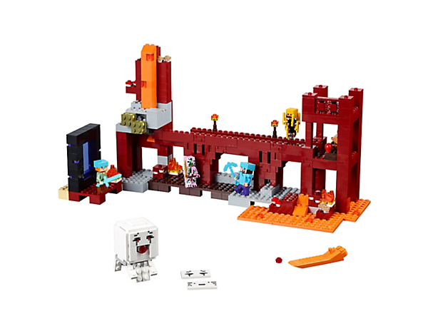 Explore product details and fan reviews for The Nether Fortress 21122 from Minecraft. Buy today with The Official LEGO® Shop Guarantee.