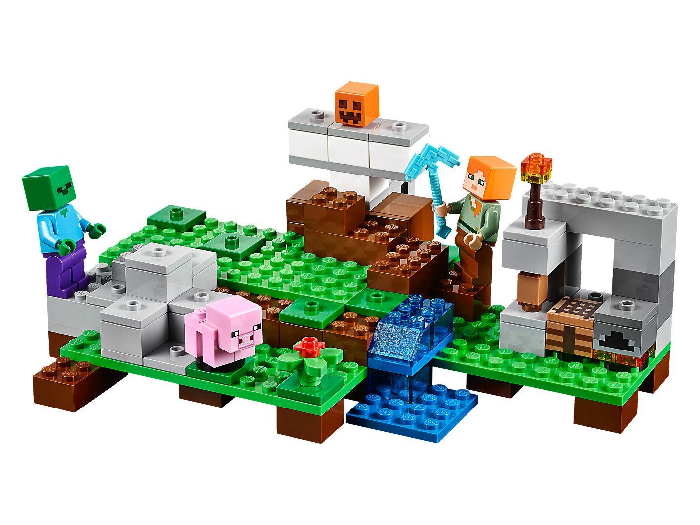 The Iron Golem 21123 Minecraft Lego Shop