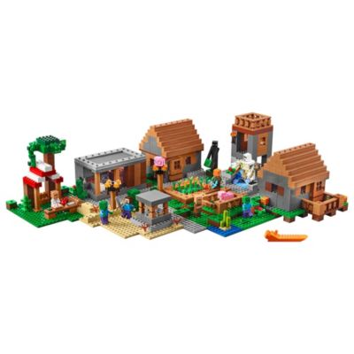 Wioska 21128 Minecraft Lego Shop
