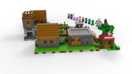 The Village 21128 | Minecraft™ | Buy online at the Official LEGO® Shop US
