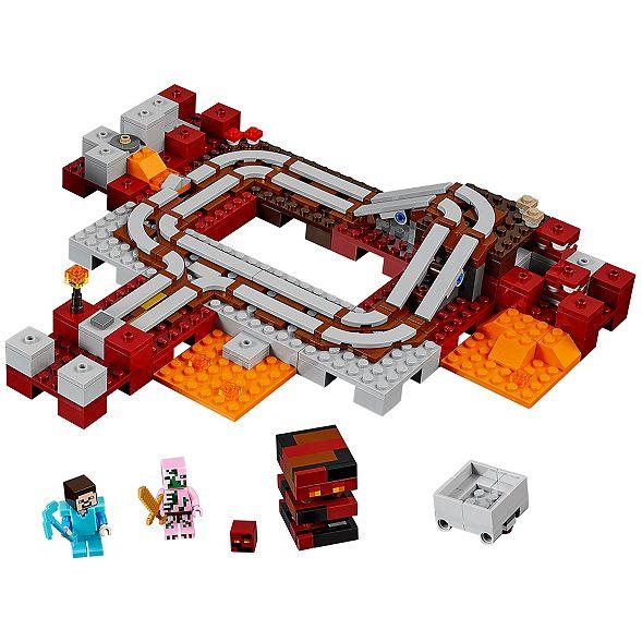 The Nether Railway 21130 Minecraft Lego Shop