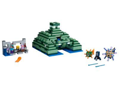 The Ocean Monument - 21136 | Minecraft™ | LEGO Shop