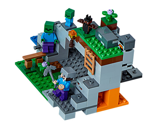 The Zombie Cave 21141 Minecraft Lego Shop
