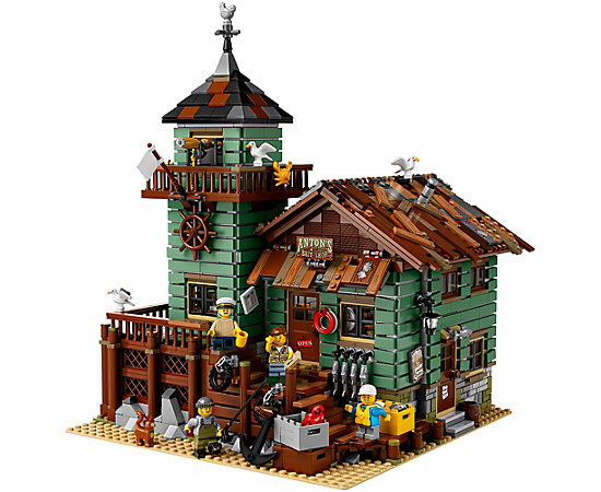 Old Fishing Store 21310 Ideas Lego Shop