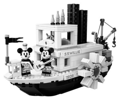 Steamboat Willie 21317 | Disney™ | Buy online at the Official LEGO® Shop US